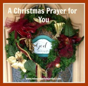 A Christmas Prayer for You